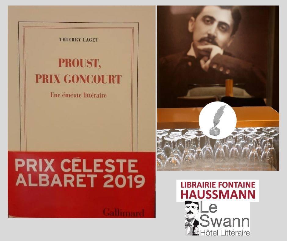 Le Petit Salon de Marcel au Swann. Invité : Thierry Laget